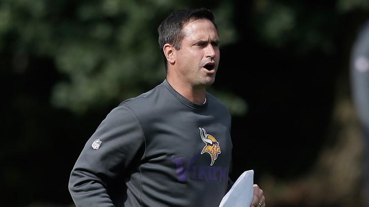 Former Minnesota Vikings special-teams coordinator Mike Priefer 2