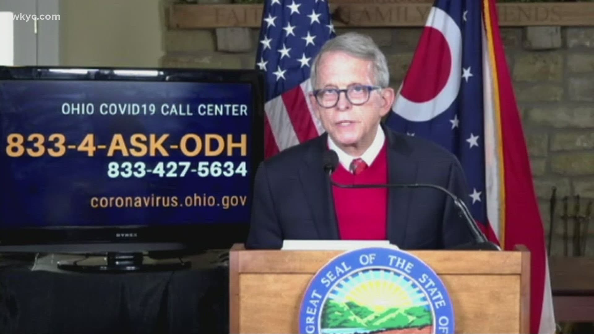 Watch Again Gov Dewine Meets With U S Surgeon General To Discuss The Pandemic In Ohio Vaccine Distribution Wkyc Com