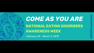 National Eating Disorder Awareness Week theme encourages inclusivity