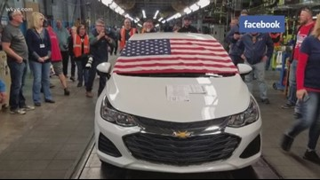 Last Chevy Cruze assembled at Lordstown plant has buyer