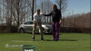Lexus Tips From The Tee: How to avoid slicing the ball