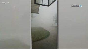 Roughly 20,000 still without power in Northeast Ohio as storms move through region