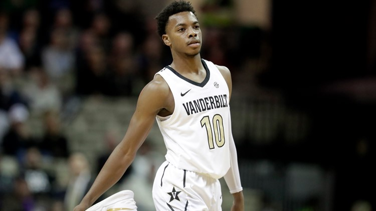 Vanderbilt Garland Basketball