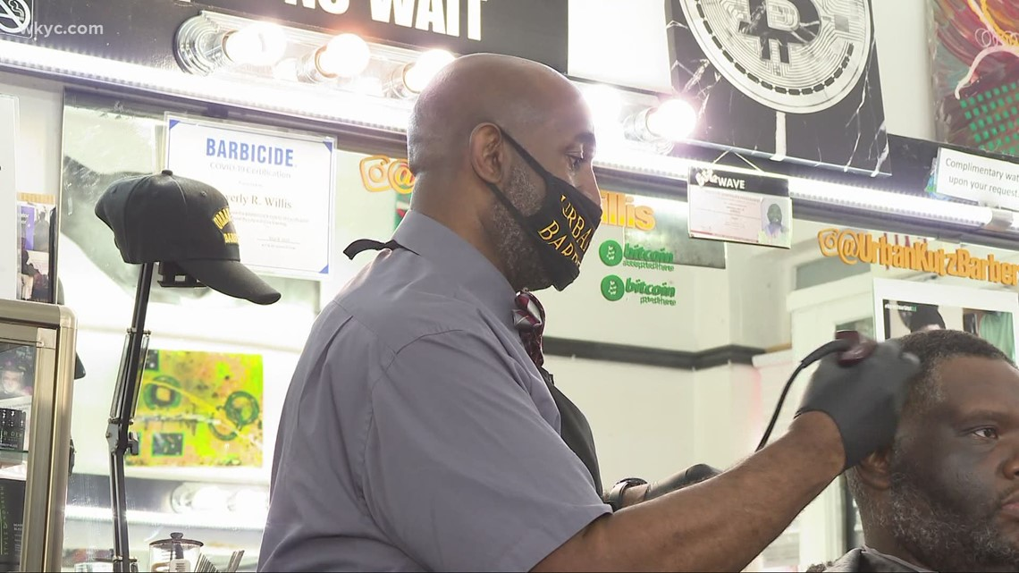 Cleveland barbershops to open as vaccination clinics