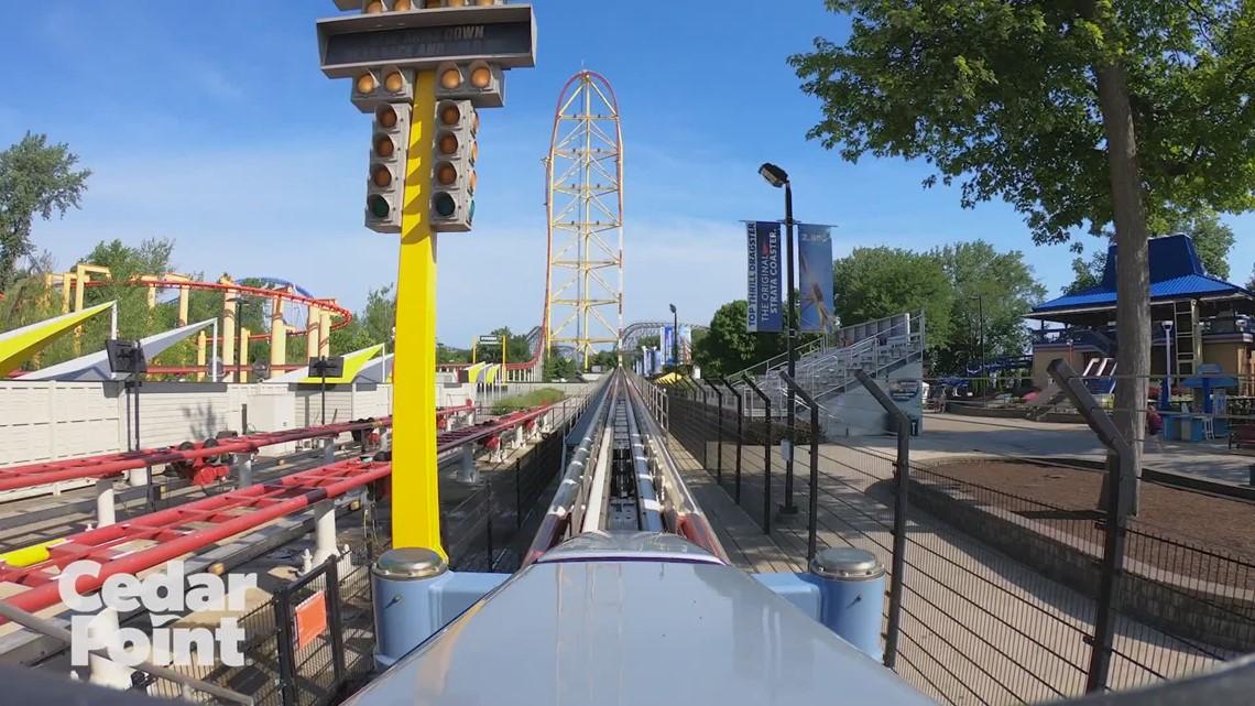 Top Thrill Dragster POV at Cedar Point