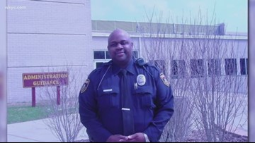 Stow police officer struck while directing traffic