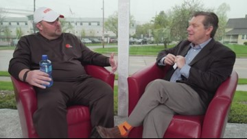 Let's Be Clear: Jim Donovan sits down with Cleveland Browns GM John Dorsey, head coach Freddie Kitchens