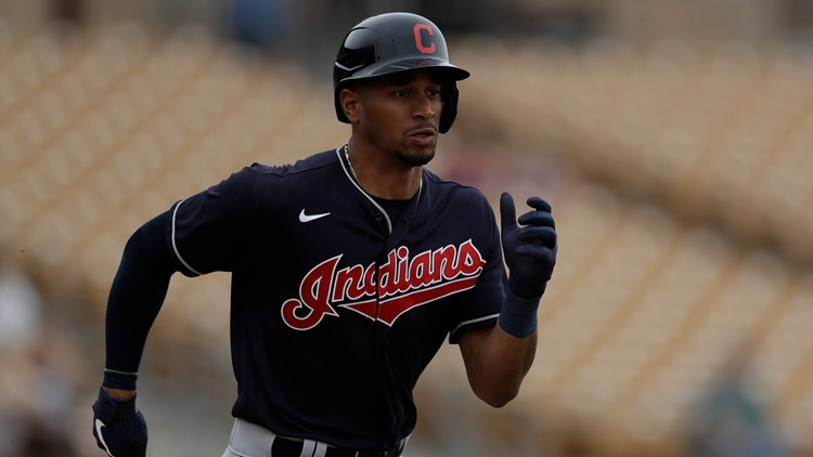 Indians OF Oscar Mercado suffers sprained left wrist | wkyc.com