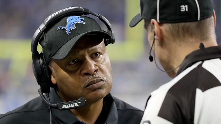 Former Detroit Lions coach Jim Caldwell 3