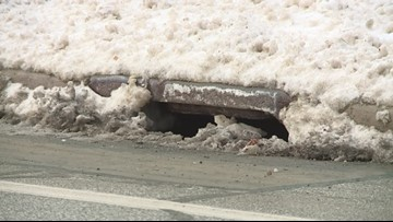 Now may be a good time to check your storm drain and furnace