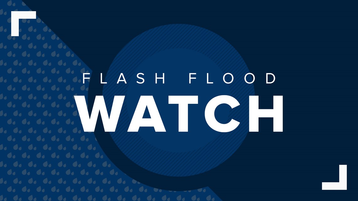 Flash Flood Watch issued for several Northeast Ohio counties due to potential heavy rain