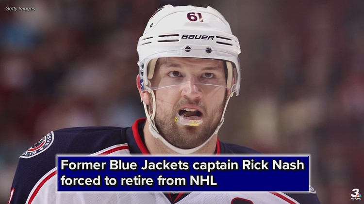 Former Blue Jackets captain Rick Nash forced to retire from NHL due to concussion issues