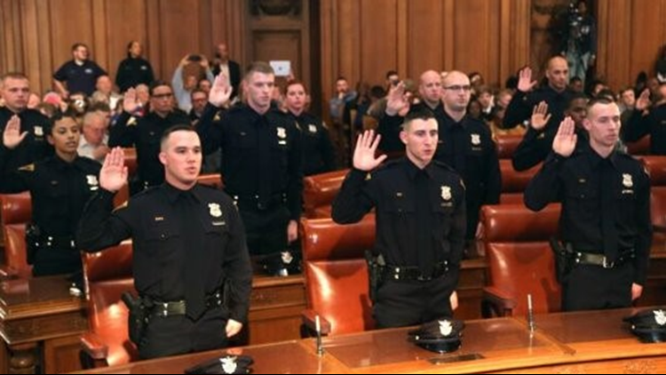 37 new officers graduate from Cleveland Police Academy; GALLERY