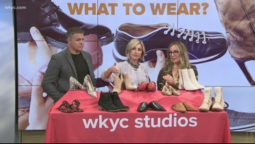 Wardrobe consultant Hallie Abrams shares what shoes to wear to get us through fall weather on Lunch Break