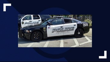 Suspect collides with Rocky River police cruiser during chase