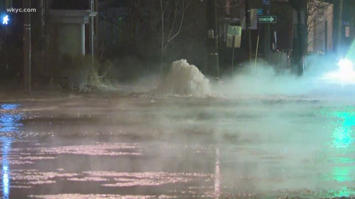 Image result for Water Main Break In Tremont