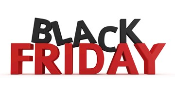 Black Friday shopping frenzy is here!