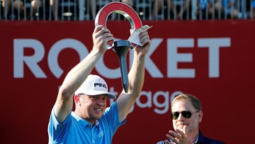 Nate Lashley leads wire-to-wire in Detroit for 1st PGA Tour win