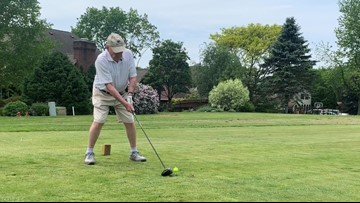 89-year-old Wooster man hits two holes-in-one in three days
