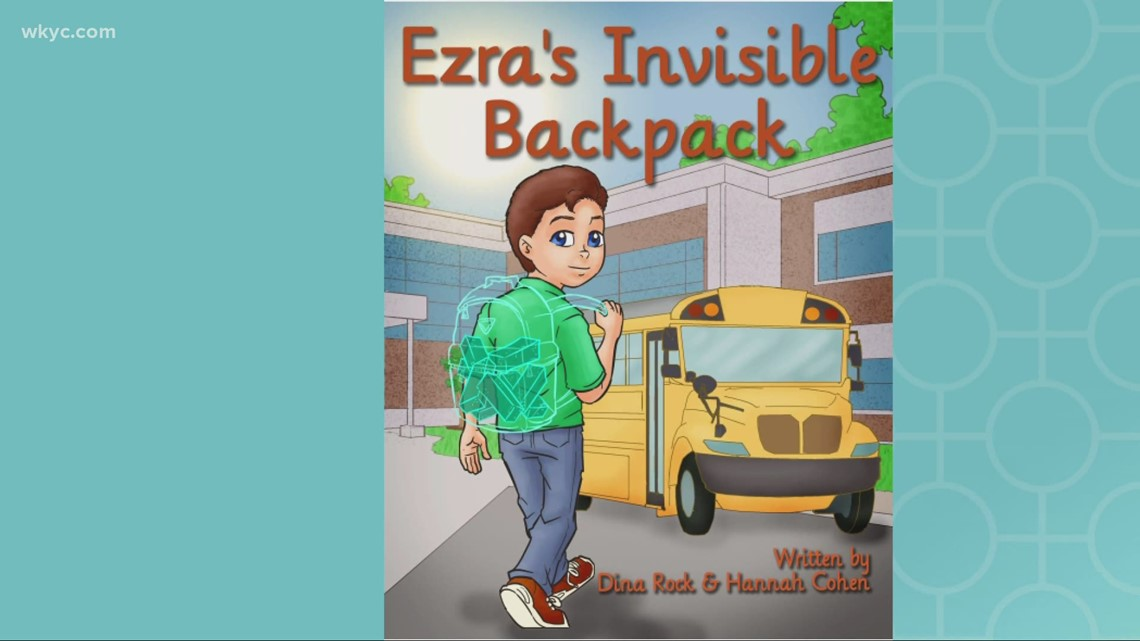 Northeast Ohio authors release new book: 'Ezra's Invisible Backpack' tells story of hidden struggles
