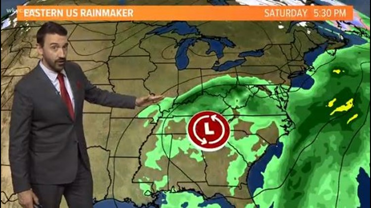 FORECAST | Warmer days ahead with weekend rain chances