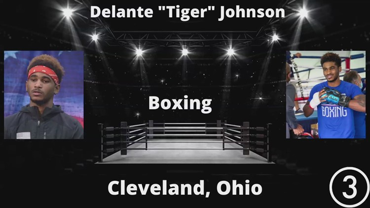 Local Olympic Athlete Spotlight: Cleveland boxer Delante 'Tiger' Johnson hungry for gold at Tokyo Olympics