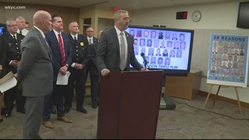 Cuyahoga County prosecutor, Ohio Attorney General reveal results of All-Star week human trafficking operation