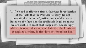 Breaking down what's in the Mueller Report
