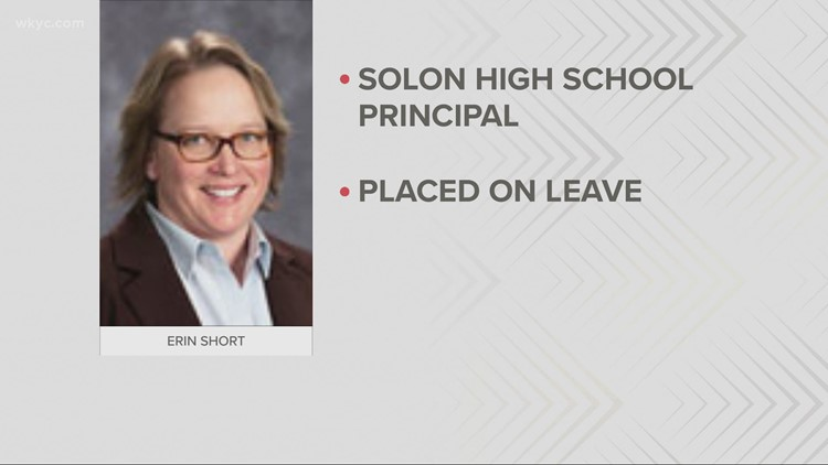 Solon High School principal placed on leave due to unspecified allegation