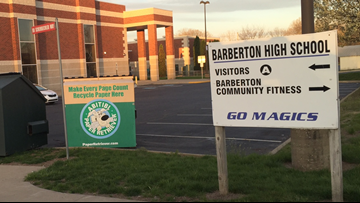 Barberton City School District says it supports student-athletes' right to not stand for national anthem