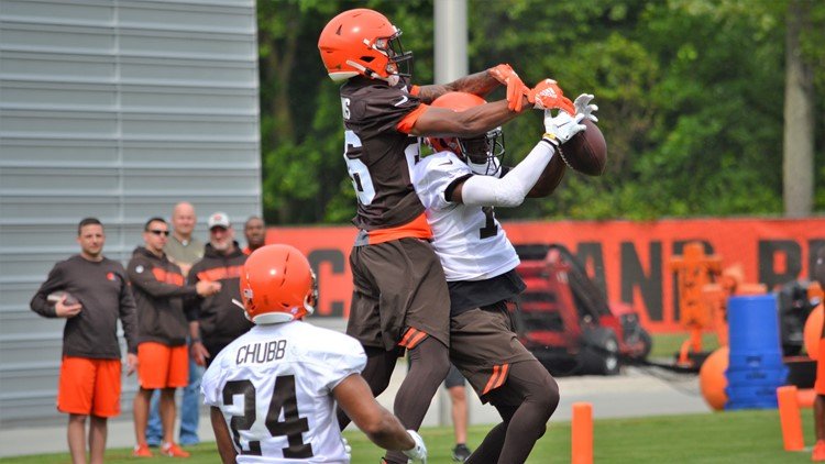 Greedy Williams Cleveland Browns Minicamp June 4, 2019