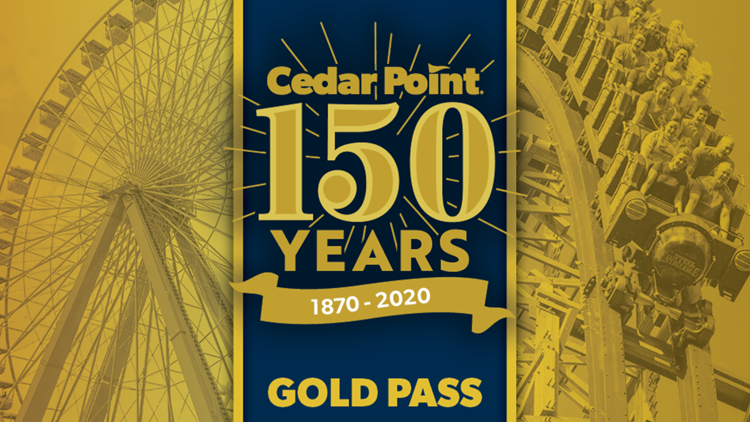 Center Point 150th anniversary Gold Pass 2019