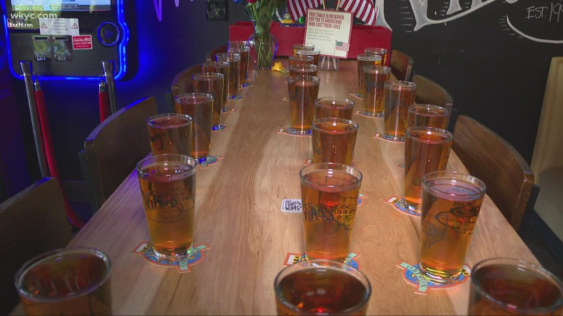 Northeast Ohio bars, restaurants reserving tables in honor of 13 US Marines killed in Afghanistan