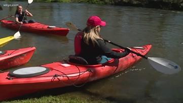 Exploring the great outdoors in Northeast Ohio: Footgolf, biking, kayaking