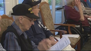Veterans honored at The Waterford in Richmond Heights