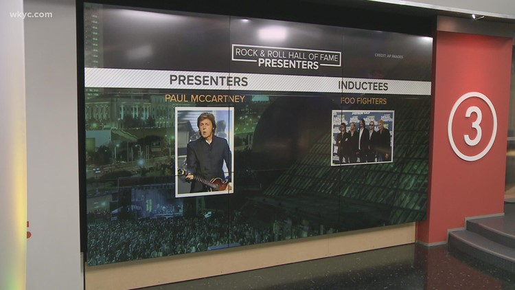 Paul McCartney, Lionel Richie, Taylor Swift join list of presenters for Rock and Roll Hall of Fame induction ceremony in Cleveland