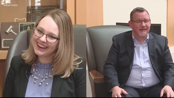 Akron father, daughter take Bar Exam together