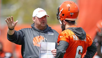 Browns head coach Freddie Kitchens is caught in the middle on Odell Beckham -- Bud Shaw's Sports Spin