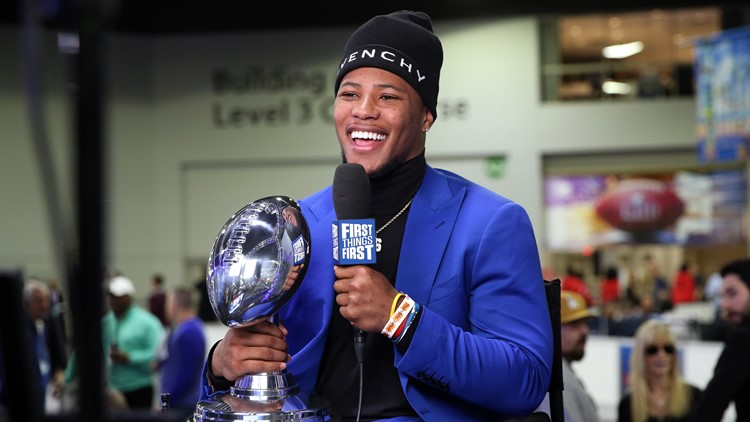 New York Giants RB Saquon Barkley named Pepsi Rookie of the Year