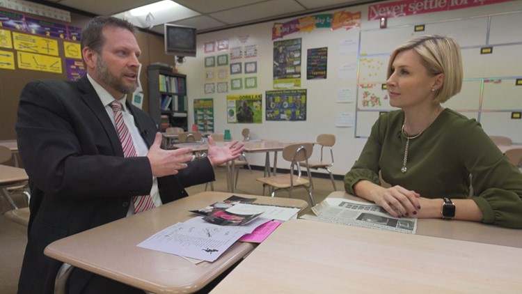 #ThankYourMentorDay: WKYC's Sara Shookman goes back to Manchester Middle School
