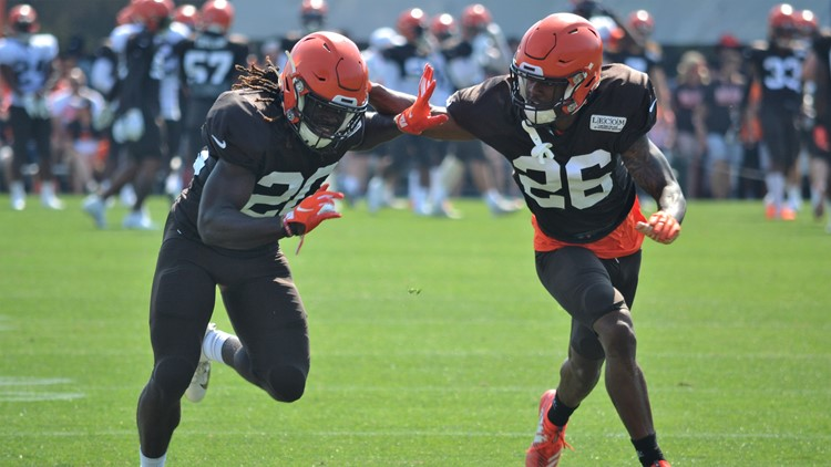 Greedy Williams Cleveland Browns Training Camp