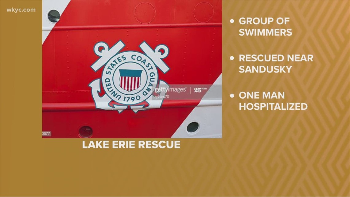 Good Samaritan rescues man from waters of Lake Erie near Ceder Point