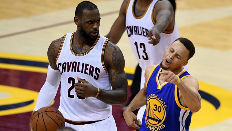 5357d1d1ffce LeBron James said Warriors were  f---ed up  after Game 6 of 2016 NBA Finals