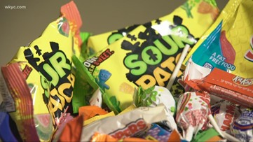 Ohio police report razor blades found in Halloween candy