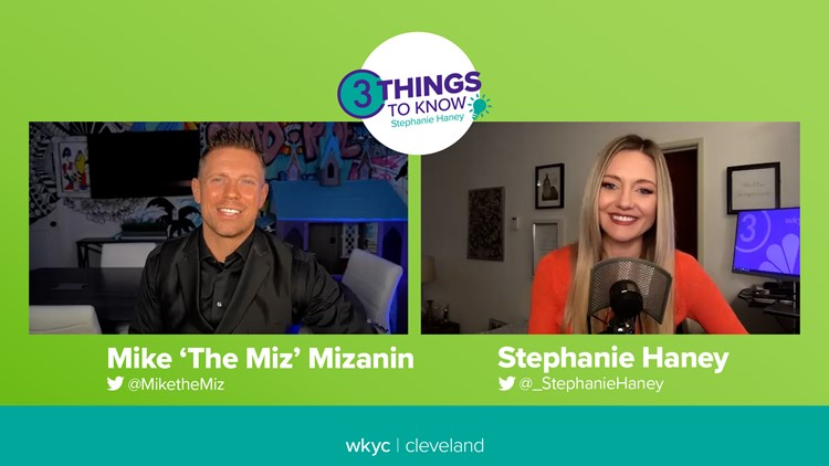 Mike 'The Miz' Mizanin excited to show more of 'Mike From Parma' on Dancing with the Stars