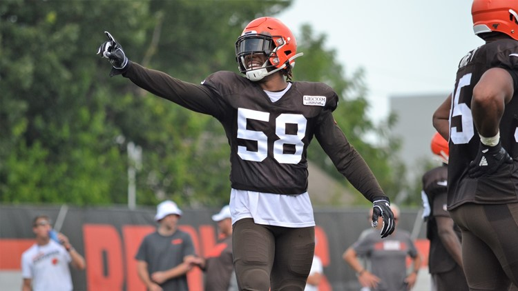 Christian Kirksey Cleveland Browns Training Camp