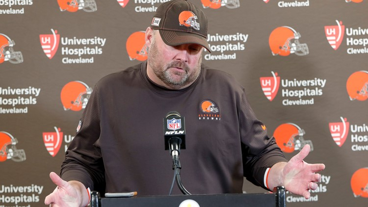 Freddie Kitchens Browns Steelers Football