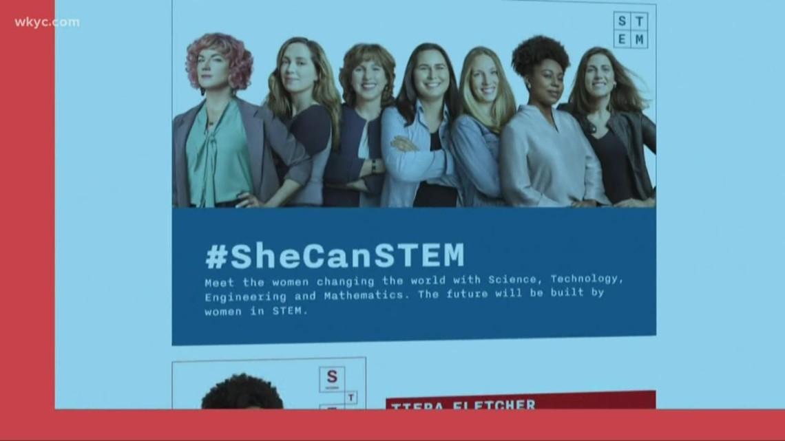 Girls in STEM   New website helps get girls interested in STEM careers