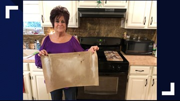 Oven liners may pose danger if not used correctly