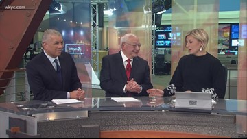 Virgil Dominic returns to the WKYC anchor desk for our 70th anniversary